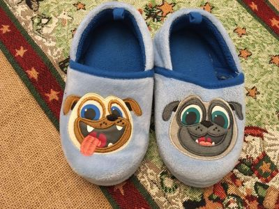 Like New Puppy Dog Pal Slippers! From Disney Store. Smoke/Pet Free home.