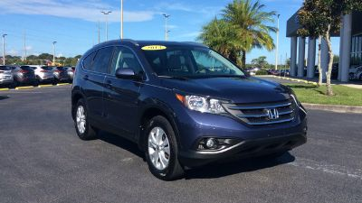 2013 Honda CR-V EX-L (Twilight Blue Metallic)
