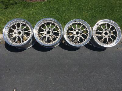 "Kinesis K28 3 Piece 18"" Forged Wheels"