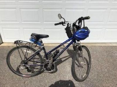 Mens all terrain bike/Ladies city bike