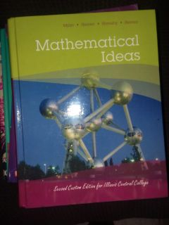 Math book used for Icc