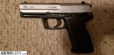 For Trade: HK USP 40 two tone
