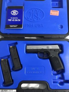 For Sale/Trade: FNH FNP-45