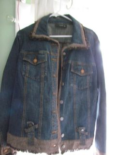 Women's Large Blue Jean Jacket