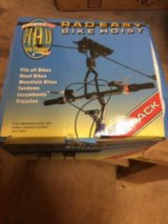 radeasy 2pk bike hoist never used