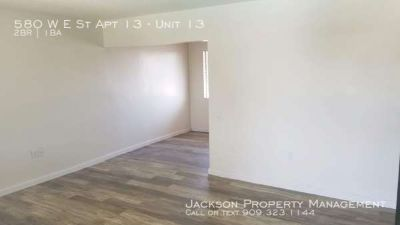 Centrally Located in Colton, Studio, One, and Two bedroom apartments