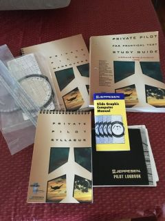 Single Engine Pilots License Books