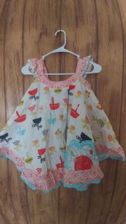 Jelly the Pug dress size 6