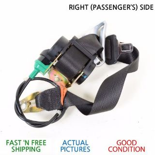 Find 2005 - 2006 BMW E46 325CI E 46 325 CI RIGHT PASSENGER SIDE SEAT BELT BLACK COLOR motorcycle in Palm Coast, Florida, United States, for US $24.99