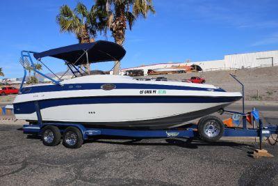 2002 Crownline Deckboat 238