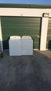 washer & dryer (free delivery)credit card accepted