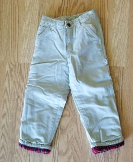 4T Boys Old Navy Lined Pants