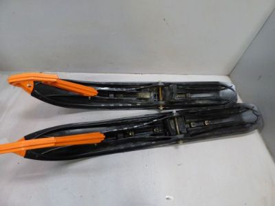 Sell 2015 15 Arctic Cat M8 M8000 Front Ski SET PAIR Orange Handles Skis 3603236 motorcycle in Kalispell, Montana, United States, for US $199.99