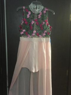 Romper Shorts with long skirt