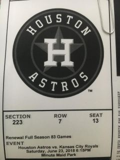 4 tix for TONIGHT 6/23 @ 6:15 club section