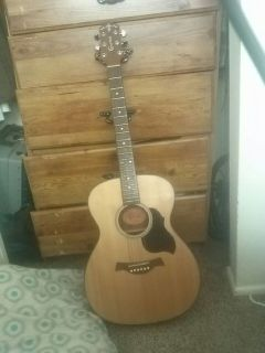 Crafter lite acoustic. Guitar