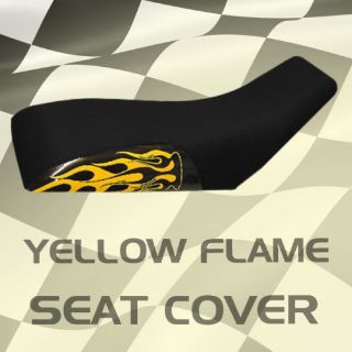Sell Yamaha Tri Z YTZ 250 85-86 Yellow Flame Seat Cover #klw16298 nsm8308 motorcycle in Milwaukee, Wisconsin, United States, for US $39.99