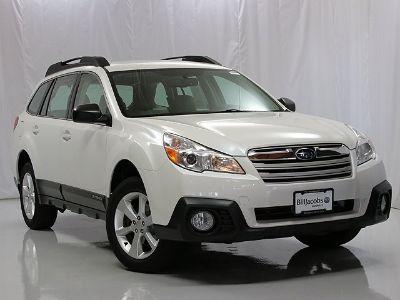 2014 Subaru Outback 2.5i (Satin White Pearl)