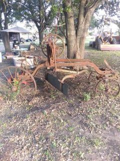 Antique road equipment