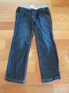 Carters size 5 boys pull on jeans