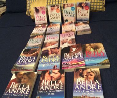 All 18 Bella Andre Sullivan Series