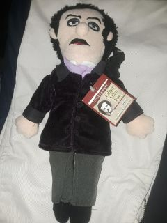 EDGAR ALLEN POE THE RAVEN DOLL NEW WITH TAG