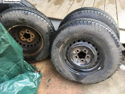 Original wheels for 1982 Vanagon