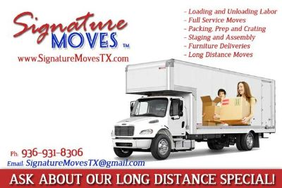 Moving out of town (San Marcos and Nationwide)