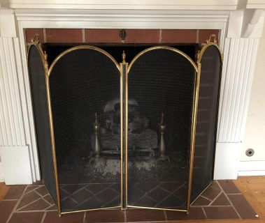 Fire place screen