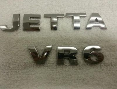 Buy OEM Factory Genuine Stock Volkswagen JETTA VR6 trunk emblem badge logo motorcycle in Lancaster, Pennsylvania, US, for US $19.99