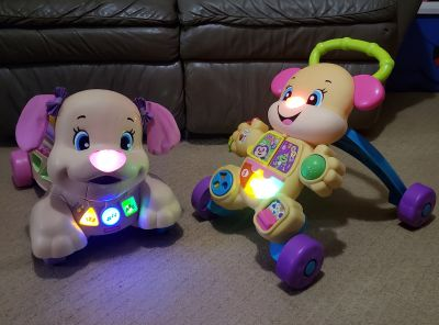 Fisher Price Laugh and Learn baby Walker and Toy to Ride