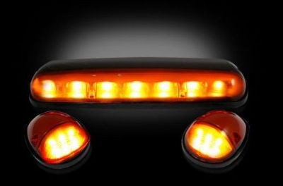 Buy RECON Amber LED Cab Lights 2002-2007 Chevy & GMC Heavy-Duty - 264155AM motorcycle in La Grange, Kentucky, United States, for US $91.25
