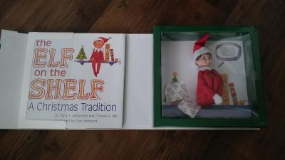 *Brand New* Boy Elf on the Shelf WITH Book