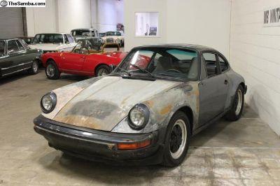 1982 Porsche 911SC Sunroof Coupe