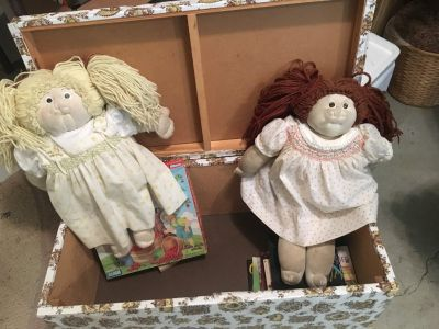 Homemade Cabbage Patch Dolls