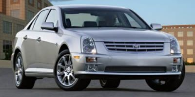 2007 Cadillac STS Base (White Diamond Tricoat)