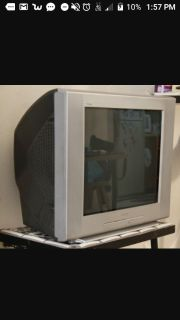 ISO working older box tv nomore than $20