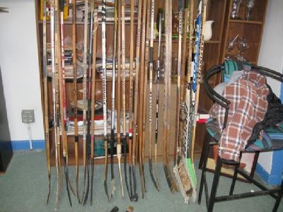 $10 Vintage Wooden Hockey Sticks ~ Assorted Brands