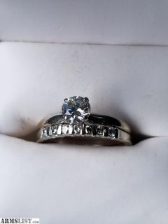 For Sale: Wedding ring set