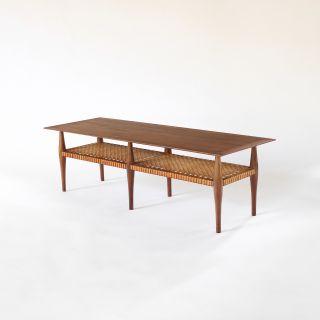 Mid Century Scandinavian Modern Coffee Table