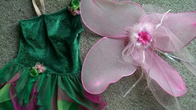 Child's Tinkerbell outfit