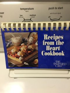 Pampered Chef Recipes from the Heart Cookbook