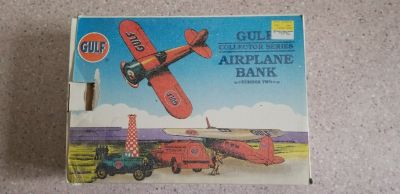Spec Cast Gulf airplane bank 1992