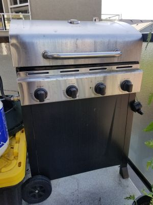 BBQ Grill with 8kg Propane tank