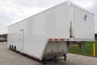 2019 inTech 42 Aluminum Gooseneck Sprint Car Trailer