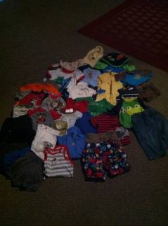 LOT OF 12 MONTH BOY CLOTHES