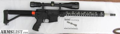 """For Sale: AR-15 18"""" SS bbl w/scope, new"""