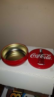Collectable Coca Cola Tin