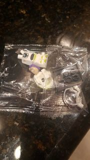 New in package, Buzz lightyear lego figure $1.50