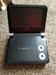 Portable DVD player. Still work just lost the charger.